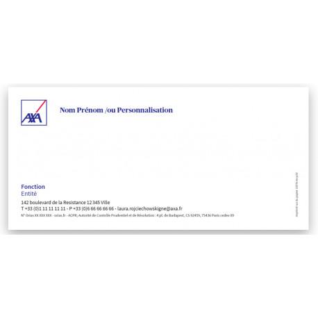 Cartes Agts 210 x 100 correspondance R 2