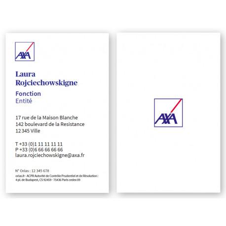 Cartes 54 X 85 2020 Logo recto